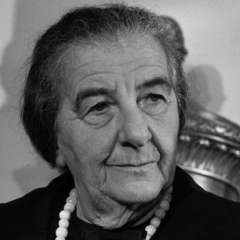 famous quotes, rare quotes and sayings  of Golda Meir