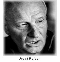 famous quotes, rare quotes and sayings  of Josef Pieper