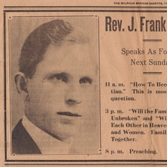 famous quotes, rare quotes and sayings  of J. Frank Norris