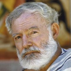 famous quotes, rare quotes and sayings  of Ernest Hemingway