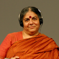 famous quotes, rare quotes and sayings  of Vandana Shiva