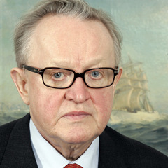 famous quotes, rare quotes and sayings  of Martti Ahtisaari