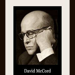 famous quotes, rare quotes and sayings  of David McCord