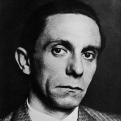 famous quotes, rare quotes and sayings  of Joseph Goebbels