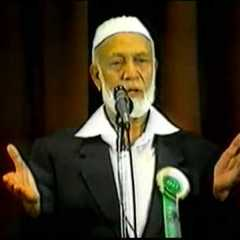 famous quotes, rare quotes and sayings  of Ahmed Deedat