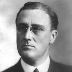 famous quotes, rare quotes and sayings  of Franklin D. Roosevelt