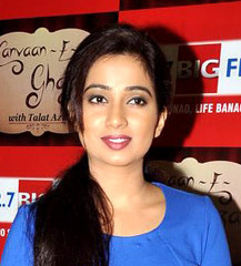 famous quotes, rare quotes and sayings  of Shreya Ghoshal