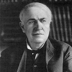 famous quotes, rare quotes and sayings  of Thomas A. Edison