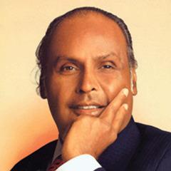 famous quotes, rare quotes and sayings  of Dhirubhai Ambani