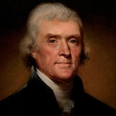famous quotes, rare quotes and sayings  of Thomas Jefferson