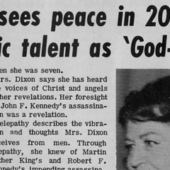 famous quotes, rare quotes and sayings  of Jeane Dixon