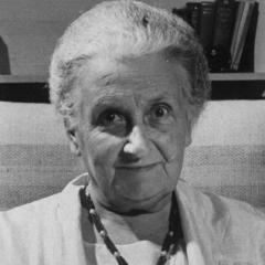 famous quotes, rare quotes and sayings  of Maria Montessori