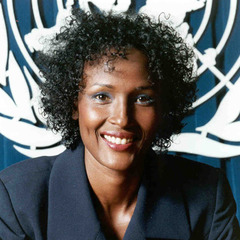 famous quotes, rare quotes and sayings  of Waris Dirie