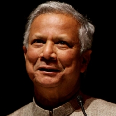 famous quotes, rare quotes and sayings  of Muhammad Yunus