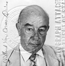 famous quotes, rare quotes and sayings  of Willard Van Orman Quine