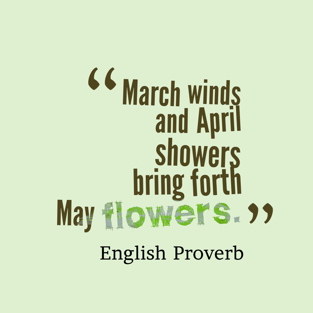 april morning quotes