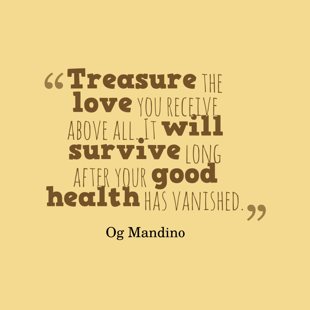 og mandino for the rest of Og mandino you will achieve grand dream, a day at a time, so set goals for each day / not long and difficult projects, but chores that will take you, step by step.