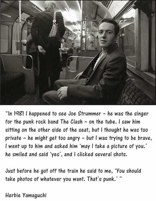 Twitter Grescoe Joe Strummer Was A Straphanger Joe Strummer Joe Strummer Quotes The Clash