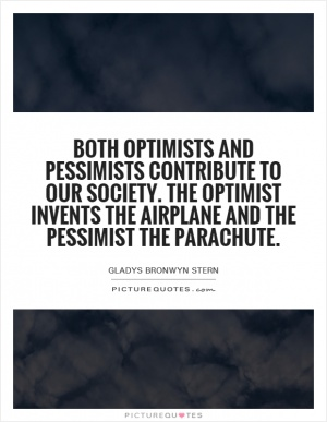 optimism and pessimism in the literature of london Abstract whereas most previous studies have assessed optimism/pessimism as a unidimensional construct, there is increasing awareness that optimism and pessimism may represent two partially independent dimensions.
